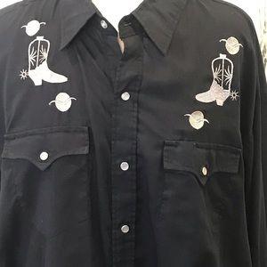 Blair Western Embrodiery's Cowboy design sz XL
